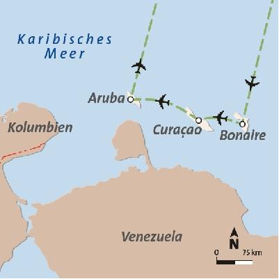 Karibik Rundreise und Baden