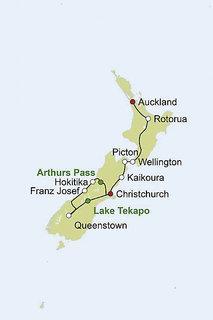 Neuseeland Rundreise und Baden