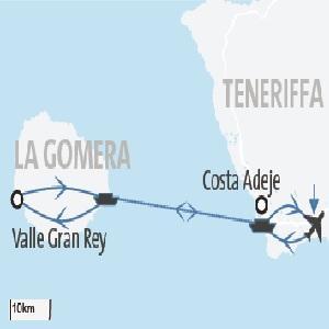 Kanaren: La Gomera & Teneriffa Rundreise und Baden