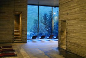 Wellnesshotel Therme Val in der Schweiz