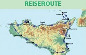 Sizilien Rundreise und Baden