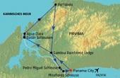 Panama Rundreise und Baden