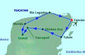 Baustein Rundreise Yucatan Kompakt, 83391A