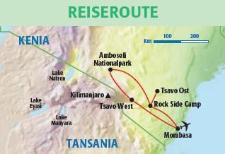 Rundreise Jambo Kenia Safari