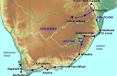 Südafrika Rundreise und Baden