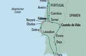 Portugal Rundreise und Baden